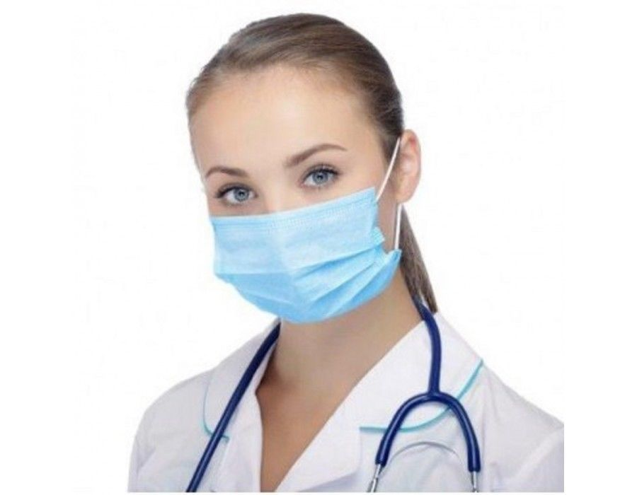 Salon Flu 3ply Earloop Face Medical Cleaning Mask Surgical Disposable 20 Dust