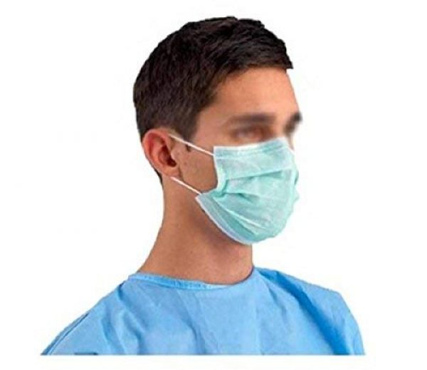 Salon Face Cleaning 3ply Dust Disposable 20 Medical Earloop Surgical Mask Flu